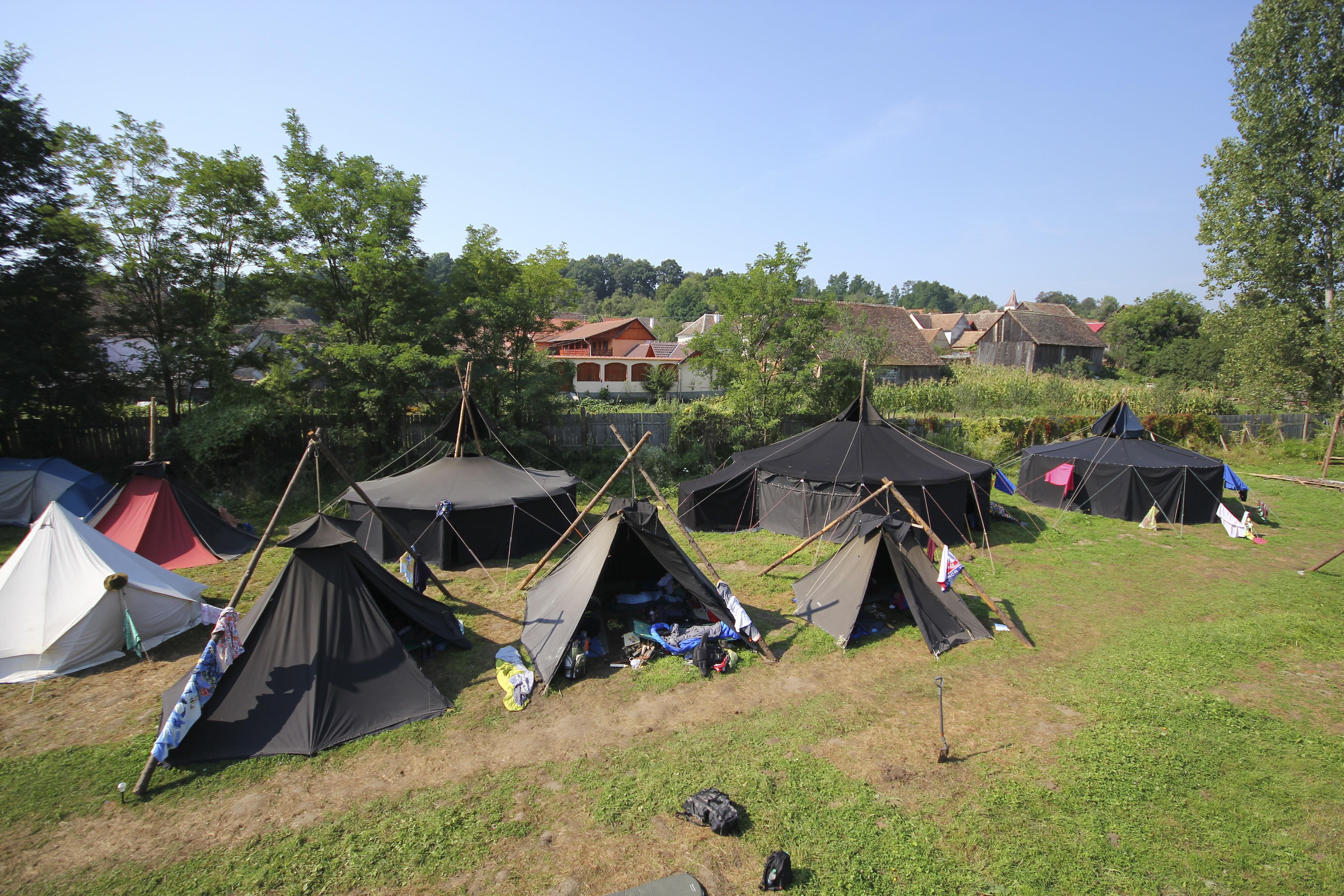 German tents